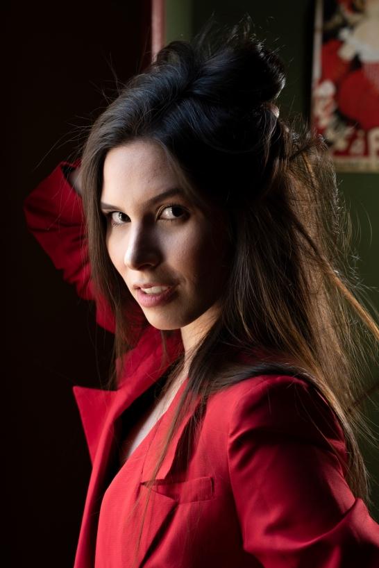 Model Lucia Lee Corsetti